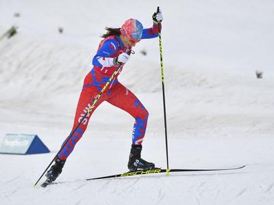 Slovenská bežkyňa na lyžiach