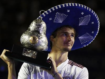 Alexander Zverev ovládol turnaj v Acapulcu