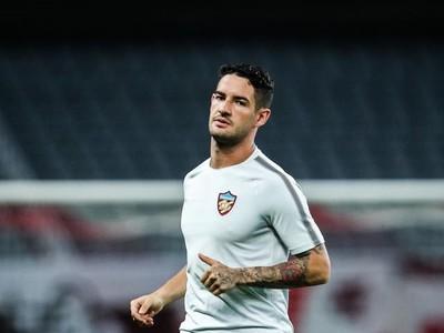 Brazílsky útočník Alexandre Pato