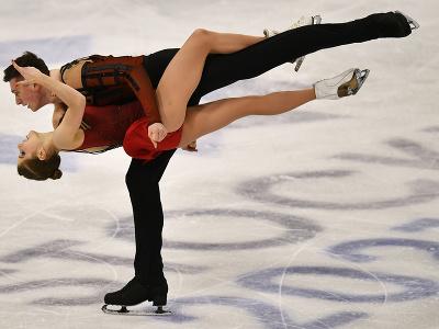Ruská športová dvojica Anastasia