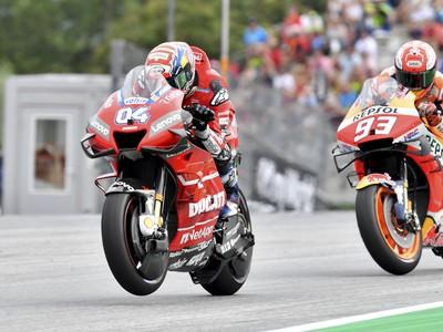 Andrea Dovizioso ovládol preteky