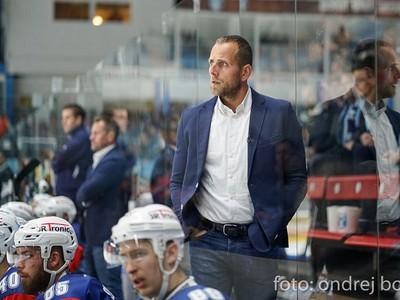 Tréner hokejistov Nitry Andrej Kmeč