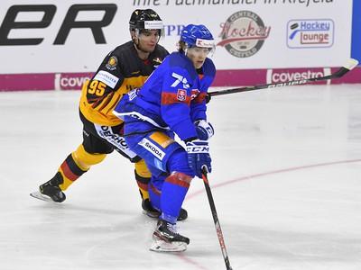 Na snímke vpravo Andrej Kollár (Slovensko) a Frederik Tiffels  (Nemecko)