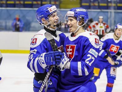 Juraj Slafkovský a Andrej Kollár