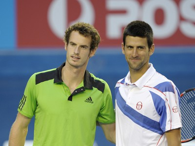 Andy Murray a Novak Djokovič