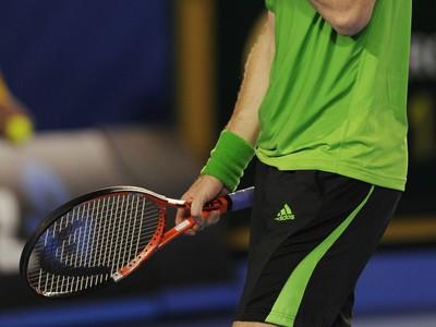 Frustrovaný Andy Murray