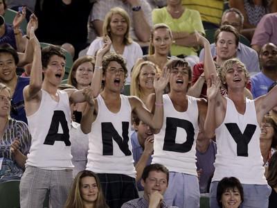 Fanúšikovia Andyho Murraya