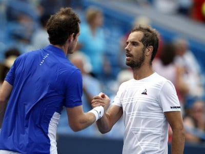 Andy Murray a Richard Gasquet