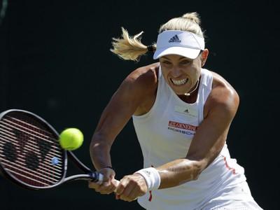 Obhajkyňa titulu na grandslamovom tenisovom Wimbledone Nemka Angelique Kerberová
