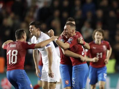 Hráči Česka sa radujú