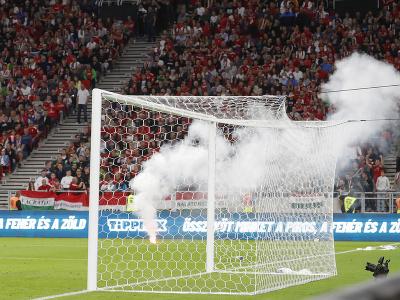 Domáci fanúšikovia počas zápasu