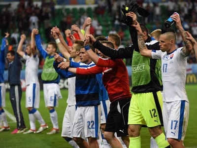 Radosť slovenských reprezentantov