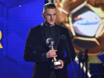Milan Škriniar získal cenu