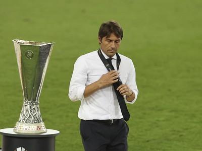 Sklamaný tréner Interu Miláno Antonio Conte