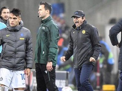 Antonio Conte počas zápasu