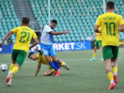 Momentka zo zápasu MŠK Žilina – Apollon Limassol