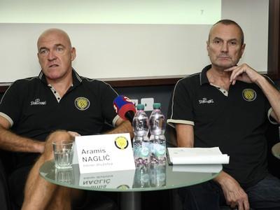 Aramis Naglič (vľavo) a