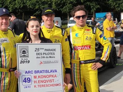 Po druhýkrát v histórii bude mať v Le Mans zastúpenie aj Slovensko, a to zásluhou tímu ARC Bratislava a jeho lídra Miroslava Konôpku