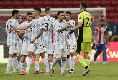Futbalisti Argentíny na Copa