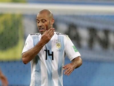 Argentínsky futbalista Javier Mascherano