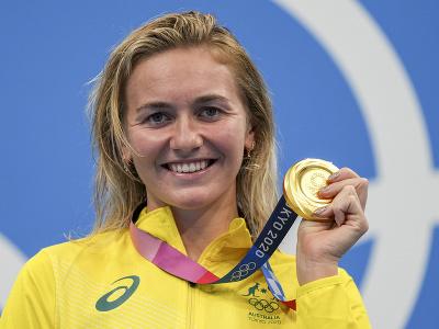 Austrálska plavkyňa Ariarne Titmusová