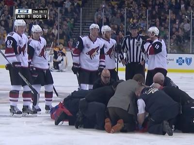 Ťažké zranenie Alexa Burmistrova