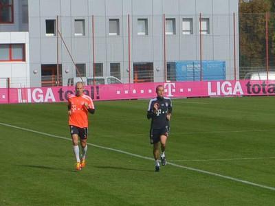 Arjen Robben sa pripravuje