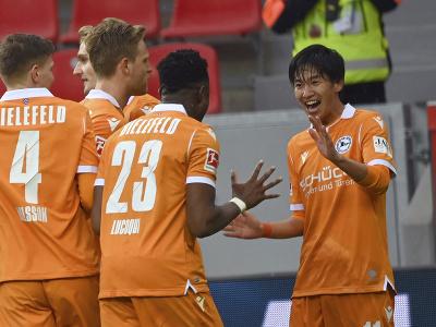 Arminia Bielefeld zaskočila Leverkusen