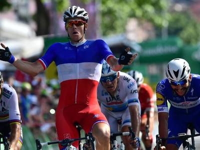 Na snímke francúzsky cyklista