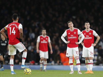 Sklamaní hráči Arsenal