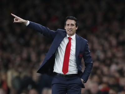Kouč Arsenalu Unai Emery