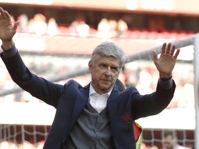 Arséne Wenger pri rozlúčke