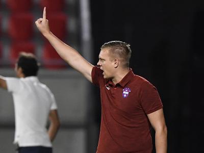Hlavný tréner FC ViOn Zlaté Moravce-Vráble Ľuboš Benkovský
