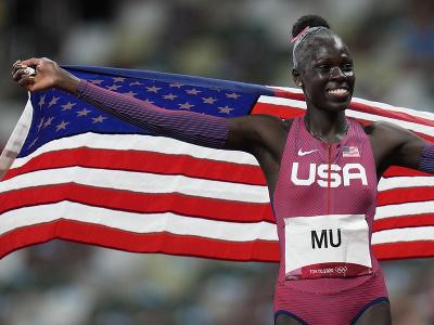 Americká atlétka Athing Muová