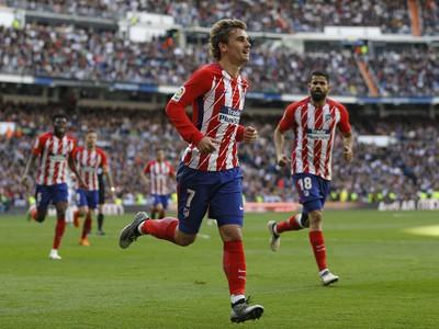 Antoine Griezmann sa raduje z gólu