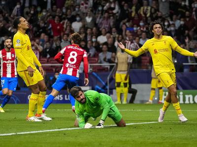 Antoine Griezmann strieľa gól