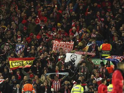 Fanúšikovia madridského Atlética