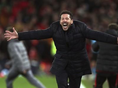 Diego Simeone sa raduje
