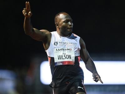 Švajčiarsky šprintér Alex Wilson