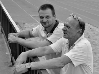 Danial Jahič (vľavo)