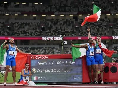 Talianski šprintéri získali na