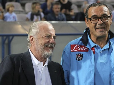Aurelio De Laurentiis (vľavo)