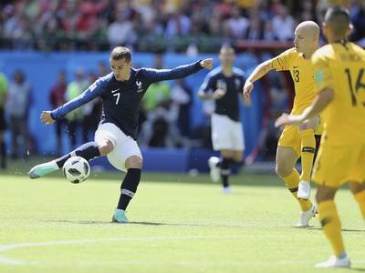 Antoine Griezmann pri lopte