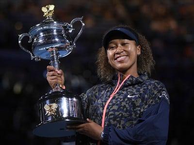 Víťazka Australian Open Naomi