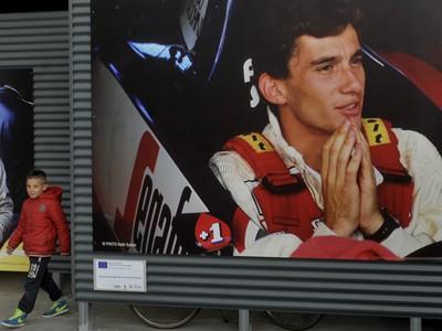 Ayrton Senna je legendou
