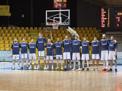 Slovenský tím pred zápasom