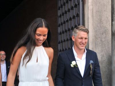 Schweinsteiger a Ivanovičová si povedali áno v Benátkach