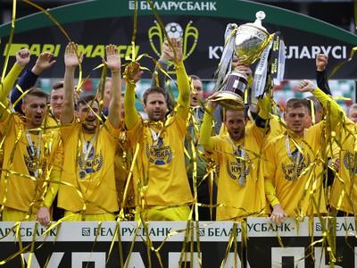 Futbalisti BATE Borisov s