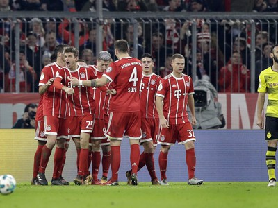 Radosť Bayernu Mníchov