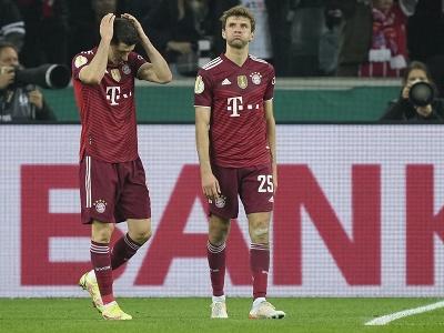Futbalisti Bayernu Mníchov Robert